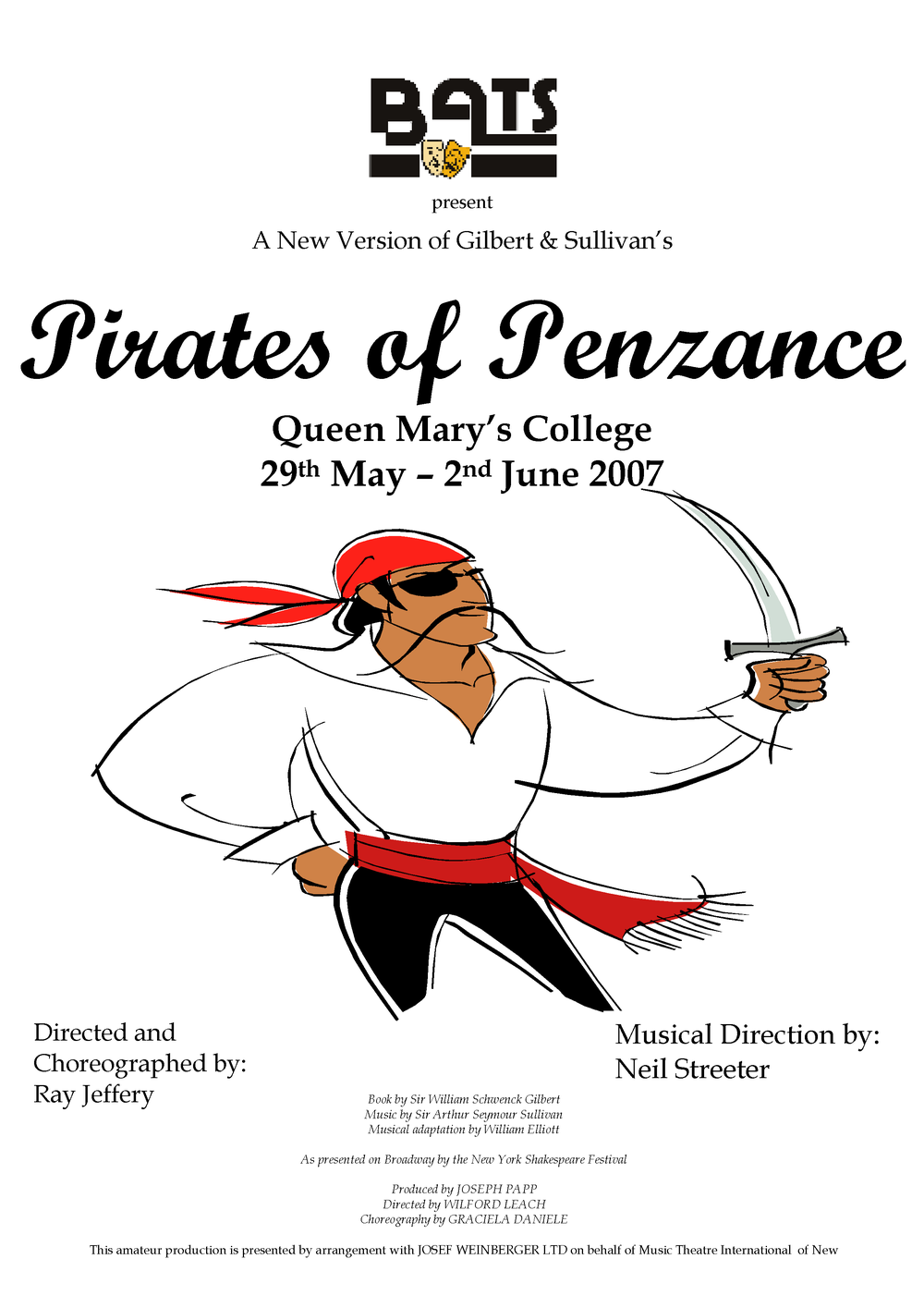 Pirates of Penzance - May 2007