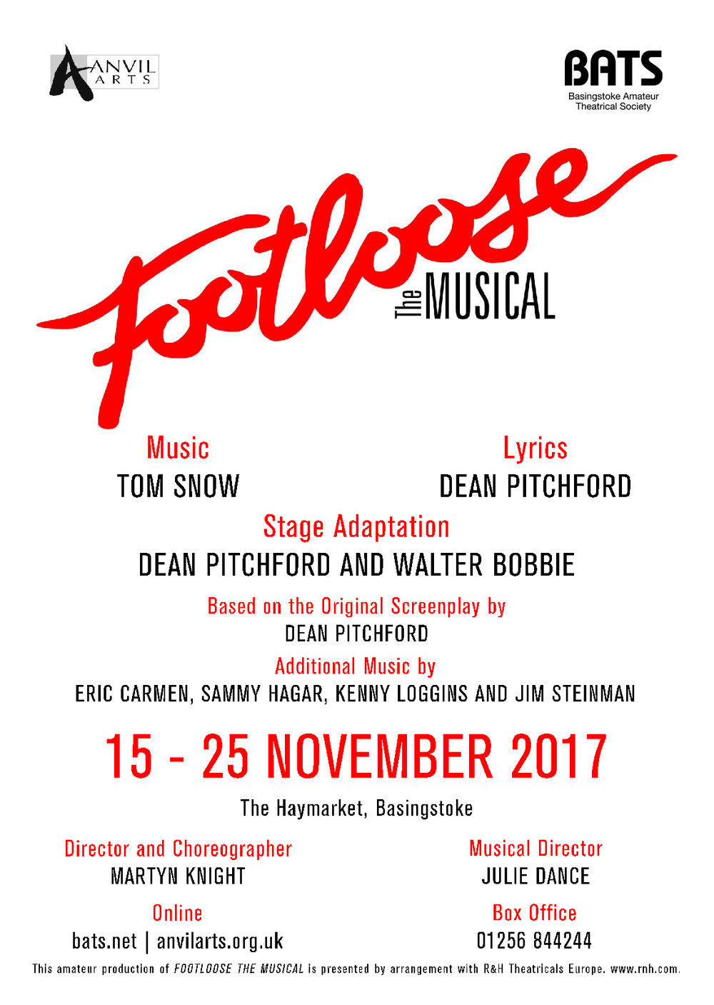 Footloose  - Nov 2017