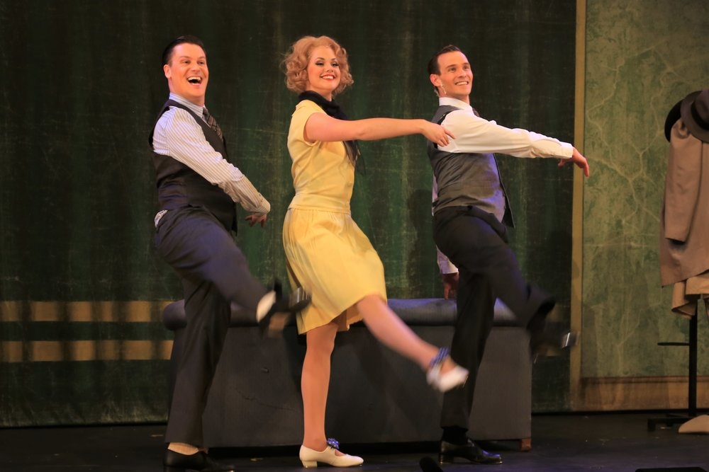 Cosmo (Will Keel-Stocker), Kathy (Anneka Wass) and Don (Bryn Hughes)