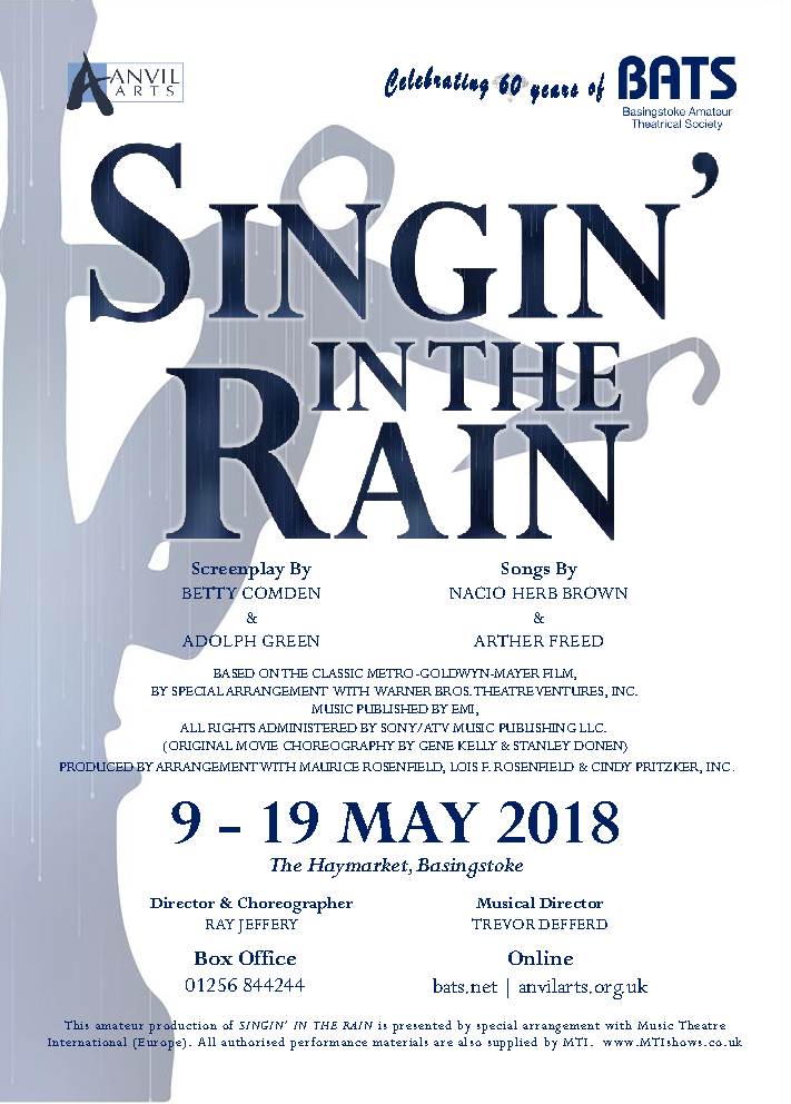 Singin' in the Rain - May 2018