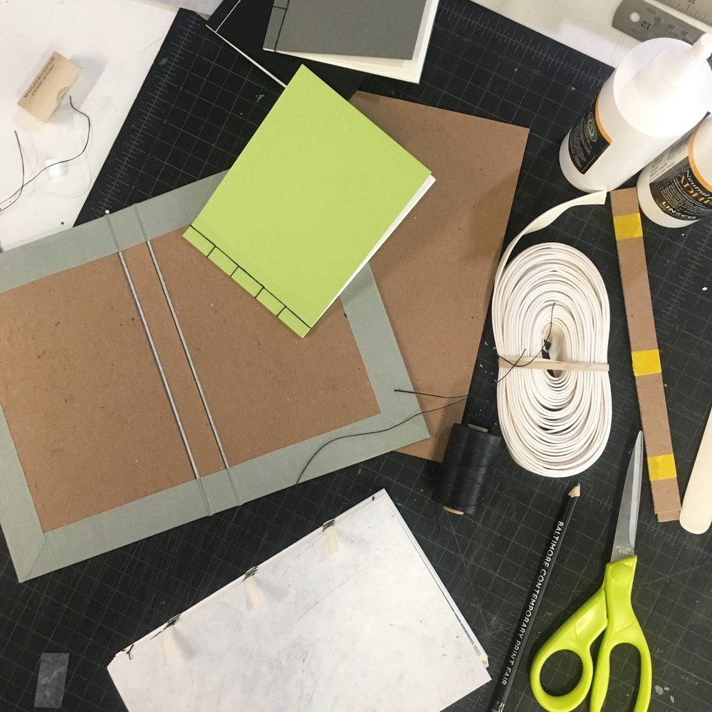 Learn. Create. Inspire. - Workshops for those looking for a brief introduction or a more thorough foray into bookbinding.