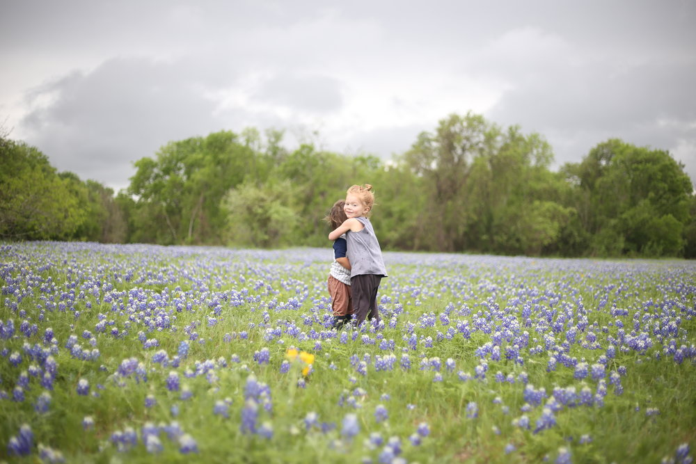 The blue bonnets in Texas are out of this world beautiful!!! (Mckinney Falls State Park)