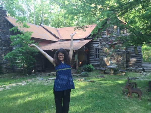 Author Stephanie Elizondo Griest, at home in North Carolina. Photo ©2016 Sandra Cisneros
