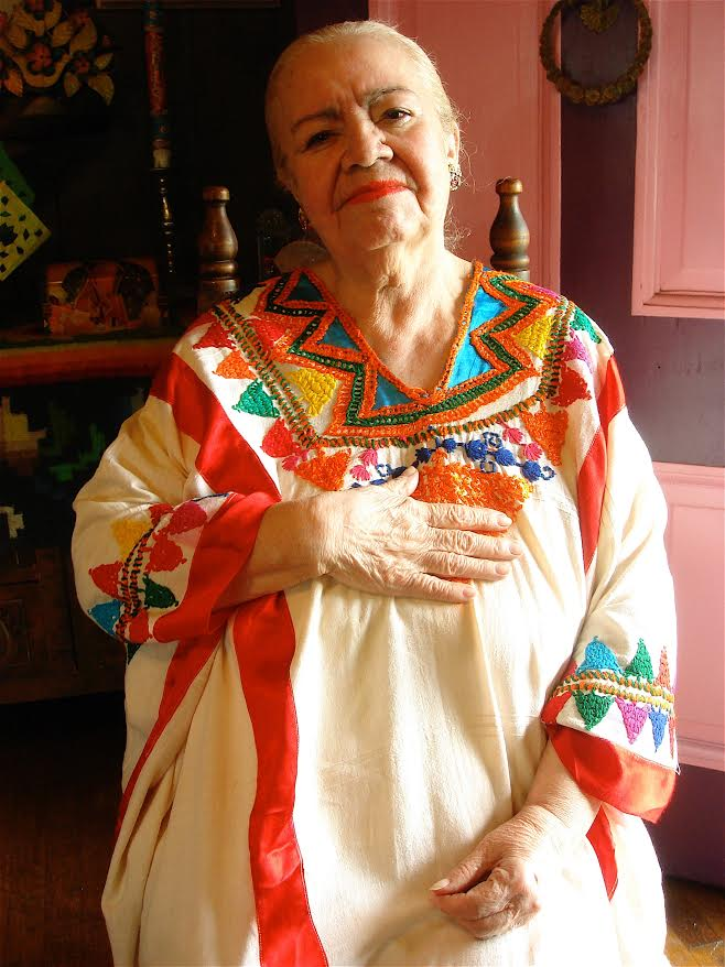 María Luisa Camacho de López.  Photo courtesy of Kathy Sosa.