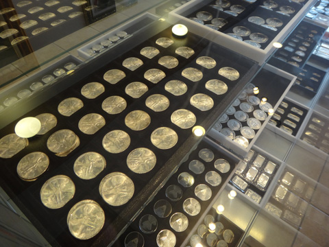 We have a wide selection of contemporary silver coins from around the world
