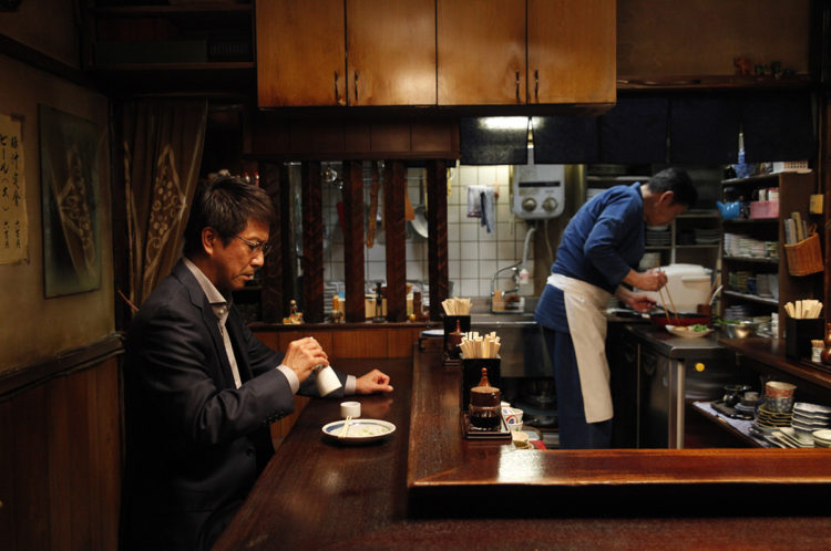 Elect Ooki eating Nagaimo Sauté