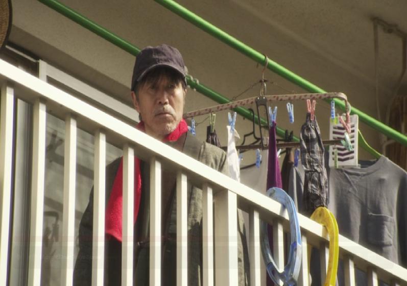 Mr. Ishibashi at his apartment