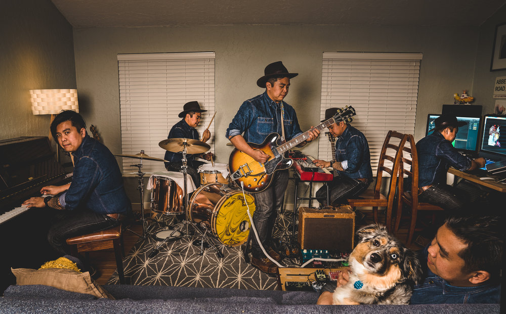 Brady Tuazon, One Man Band