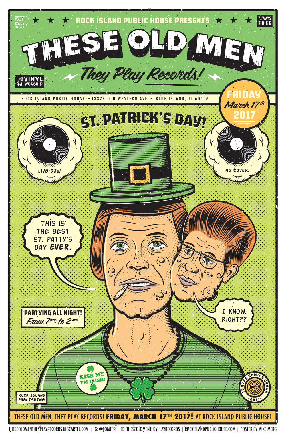 These Old Men They Play Records - The Saint Patrick's Day Event