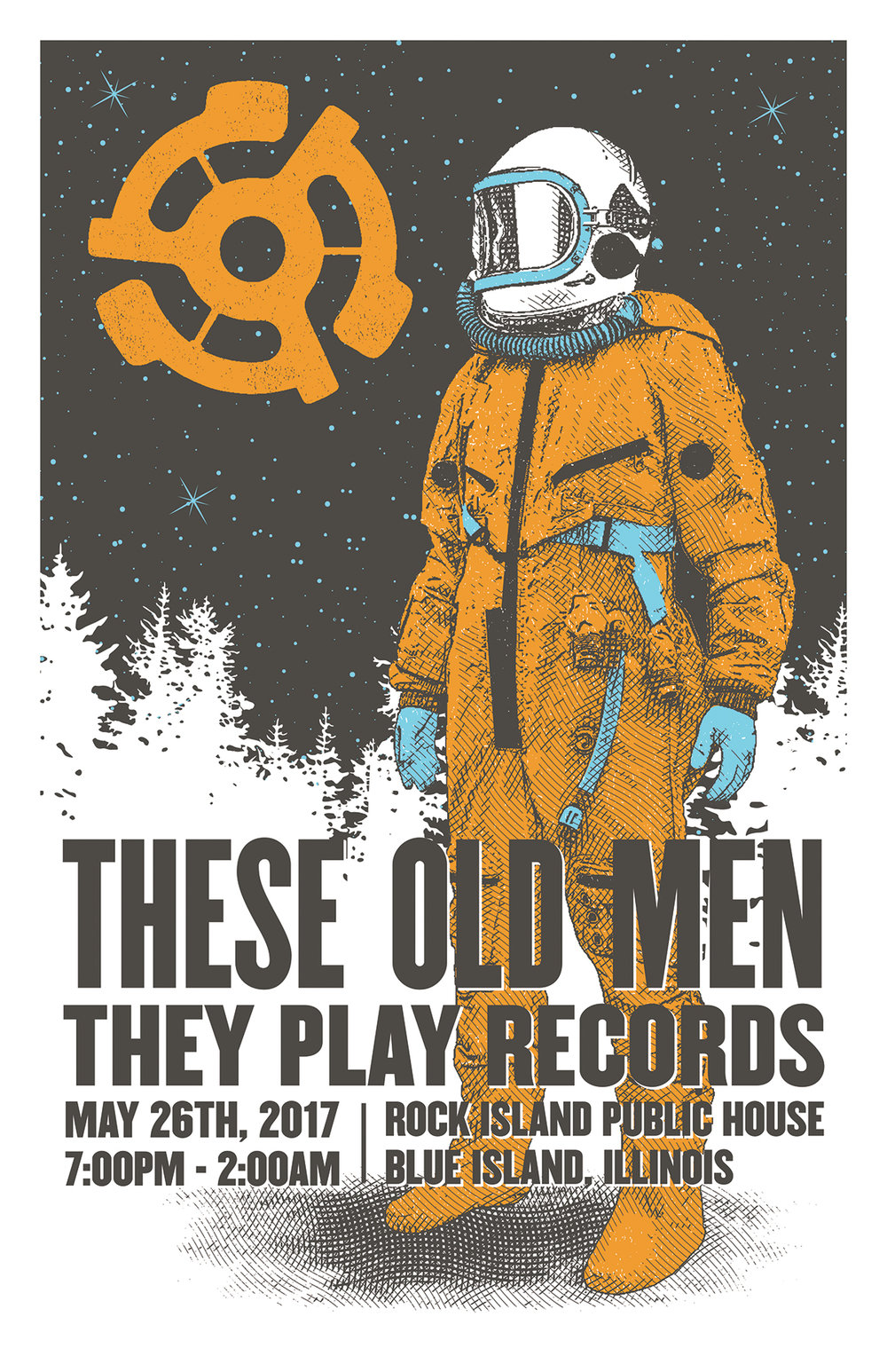 These Old Men They Play Records-The Count Downs On!