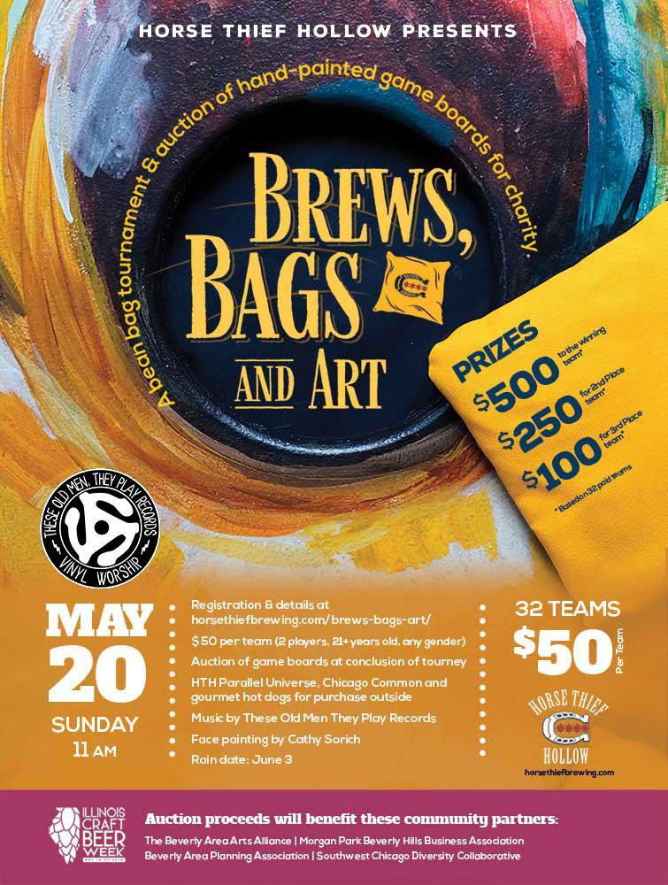 Brews, Bags & Art