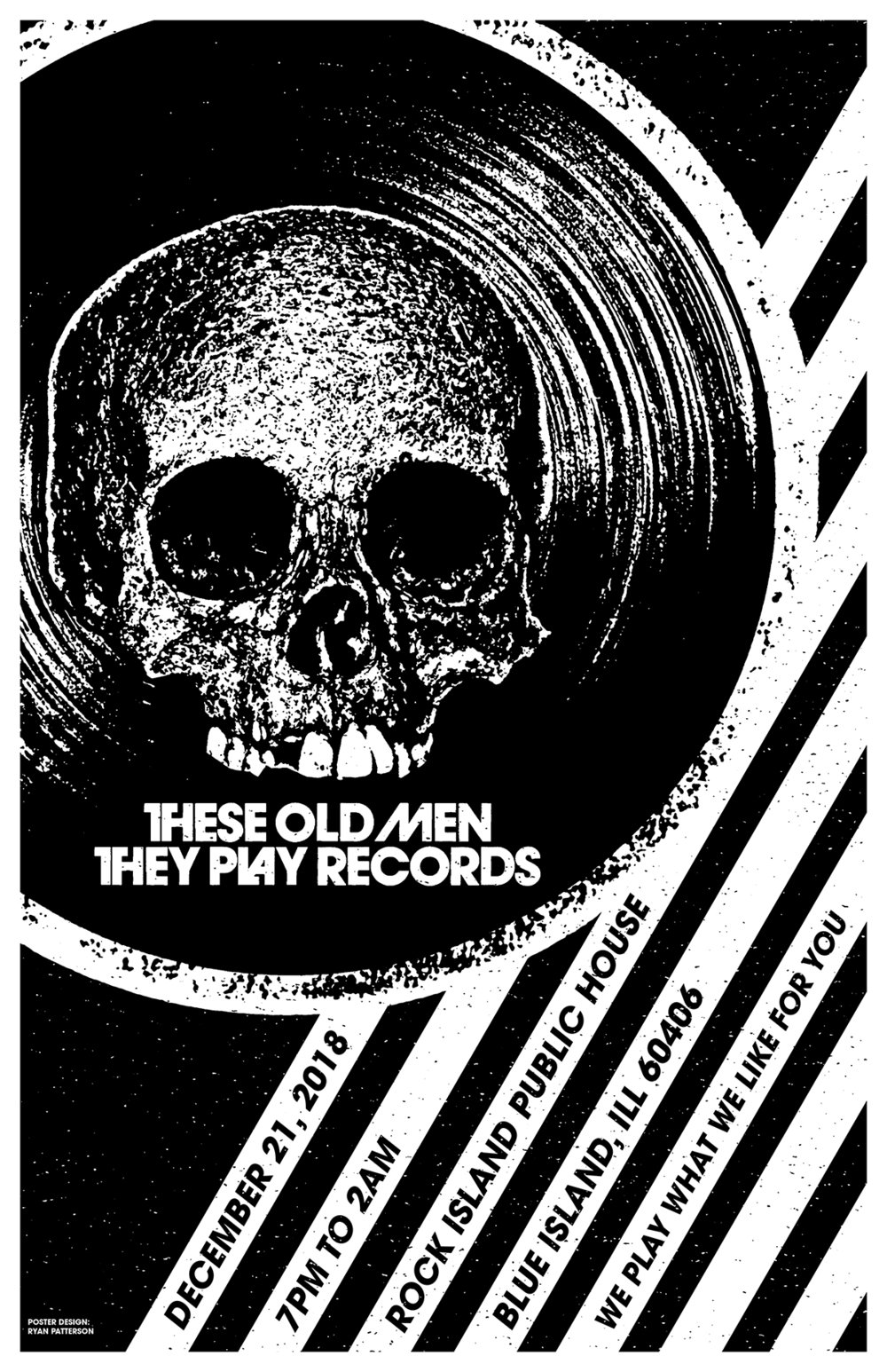 These Old Men They Play Records - The December Edition