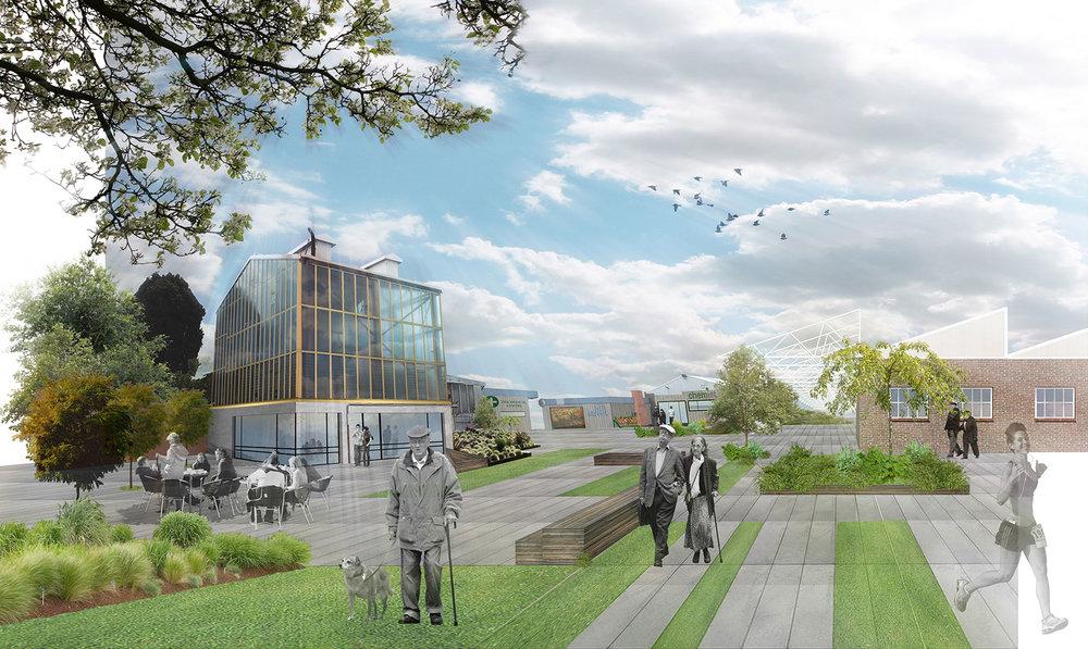 Australian Weaving Mills Redevelopment Masterplan