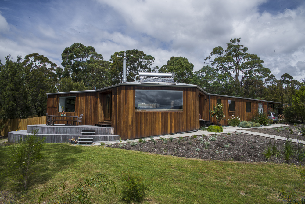 Wrapped House -