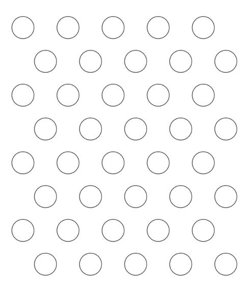 Piping guide les petits macarons for Macaron baking sheet template