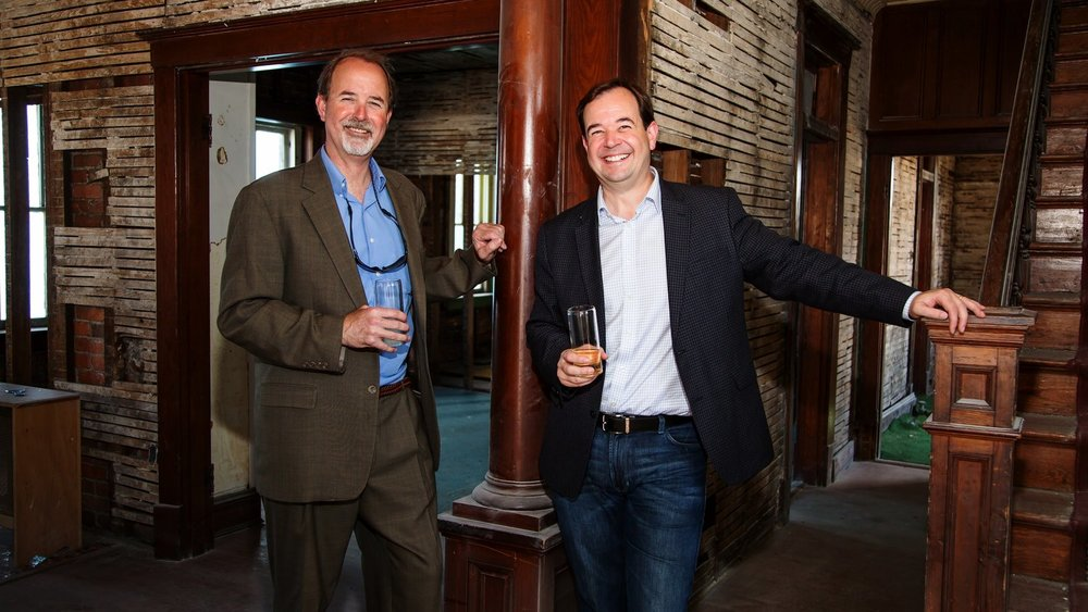 Tim and Doug Smith will open Sly Clyde Ciderworks in Spring 2018.