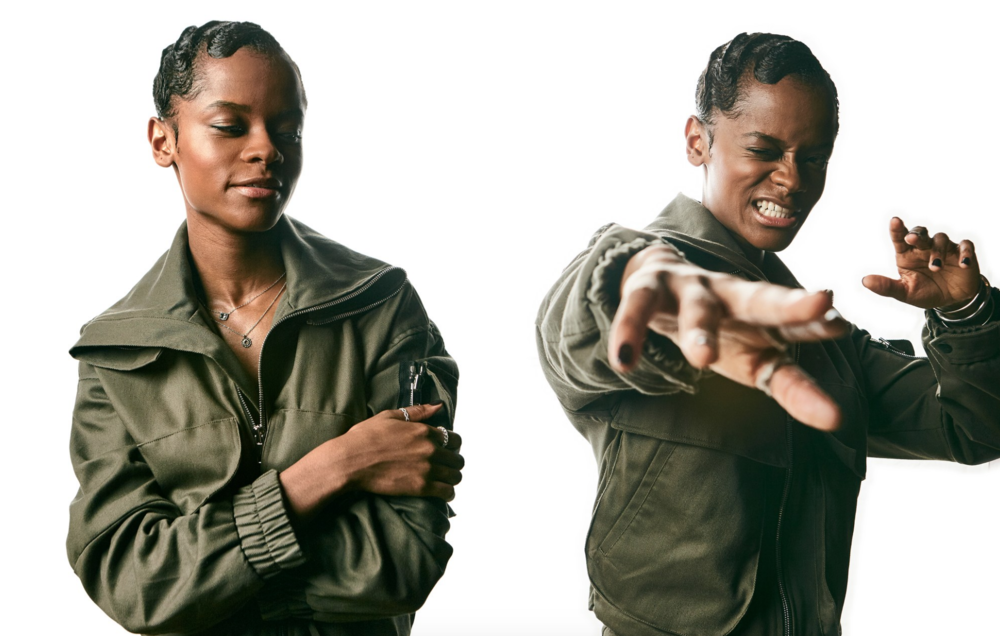 Letitia Wright photo by by Nicol Biesek