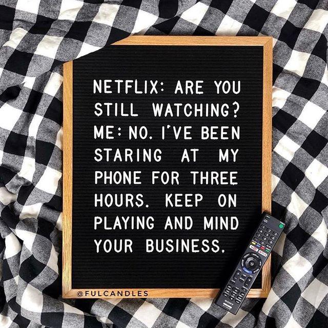 Stay in your lane, Netflix. 😂 #sundayfunday