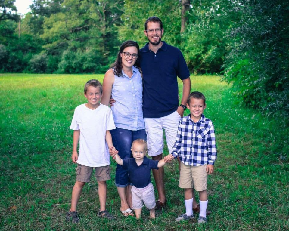"Angie (and Luke) Luginbuhl   ""We heard of a group of families that had a vision to develop their kids into wholehearted lovers of Jesus, and educate them in every subject starting with the revelation of God's nature and character. That's always been our vision of homeschooling, and we wanted our kids to have ""Shadrachs, Meshachs, and Abednegos"" around them. We purposed to not only join this group, but to invest with them to see this vision fully manifest in the coming years. We are a young co-op and in many ways, still finding out how best to put feet to what we have seen in prayer, but I've found an atmosphere of grace, honor, and flexibility among the staff and teachers that more than makes up for any growing pains. These children are destined to be world changers, just like their parents, and we are honored to serve them."""