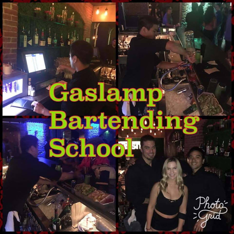 We cant find one other school in the world that offers LIVE SERVICE TRAINING. Students Bartend every weekend at Bassmnt nightclub to the public (You read that correctly). Students feel extremely comfortable Bartending for their first time at Bassmnt, Its the same place they learned to bartend.  The best way to REALLY feel what its like to bartend, is by bartending! Simply just obtain the Food handlers card and L.E.A.D certification. Links below!
