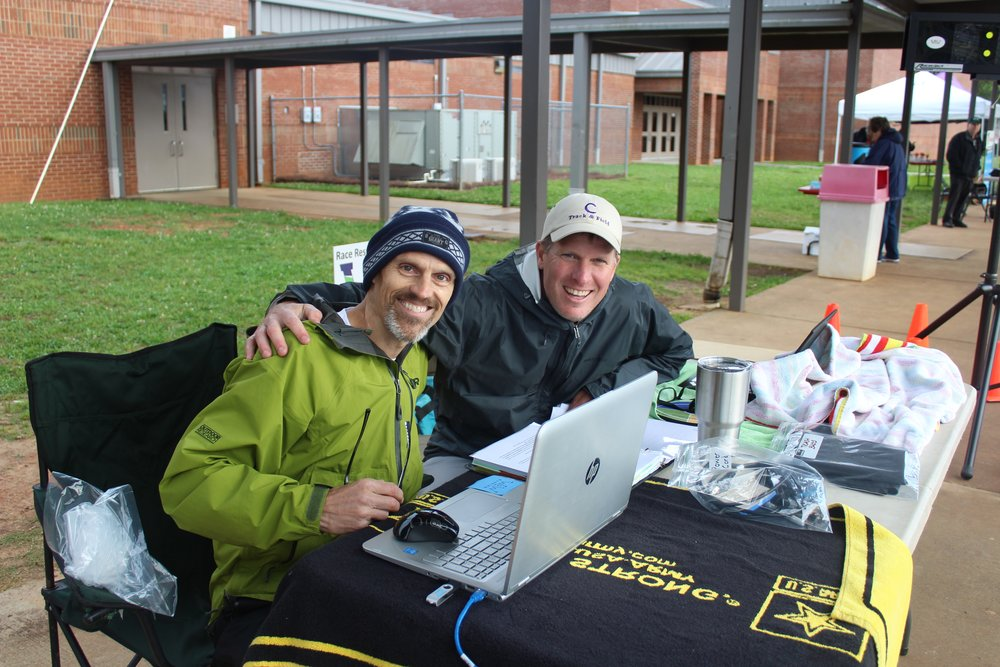 Co-Owners  David Matherne  (L) and  Matt Terry  (R) bring a  ton  of  experience  to the table...that, and usually some coffee!  Wire2Wire Running  is more than their business...it's their vision of All Things Running in Northwest Georgia.