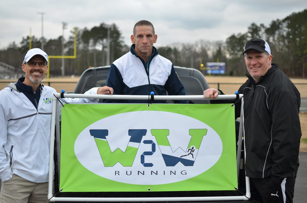 Wire2Wire Running  recently partnered with Coach David Gierlak (center), to head up the W2W Youth Training Program. Welcome aboard, Coach Gierlak!