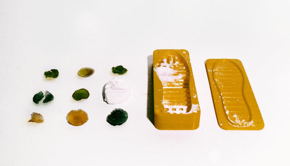 Cooled bioplastics