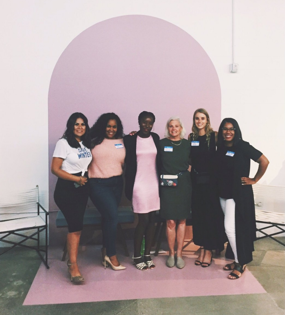 "Dennis & Rachel as panelists at Levo LA's Event ""Her Career, Her Way: Fashion!"" (pic courtesy of Levo LA's website)"