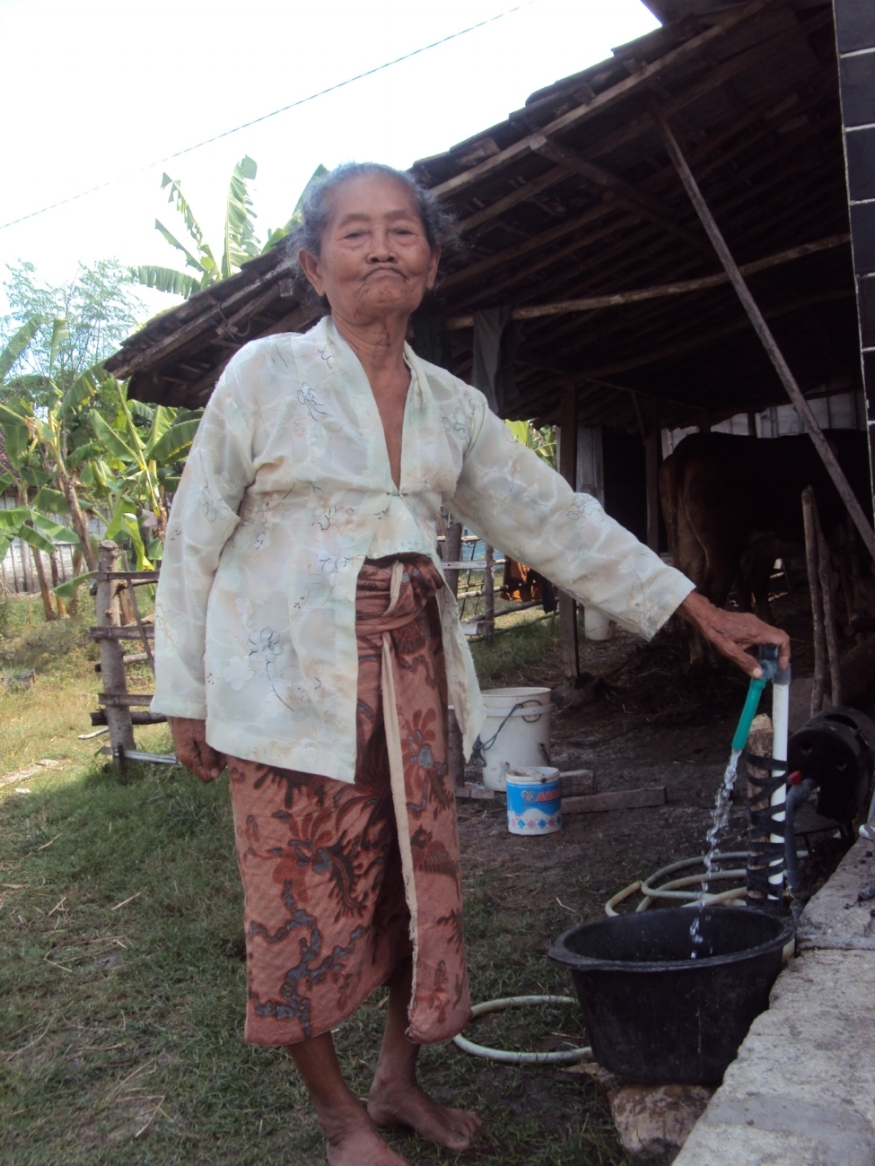 Our 'Water is Life' campaign brought clean water access to the homes in Ngimbang village