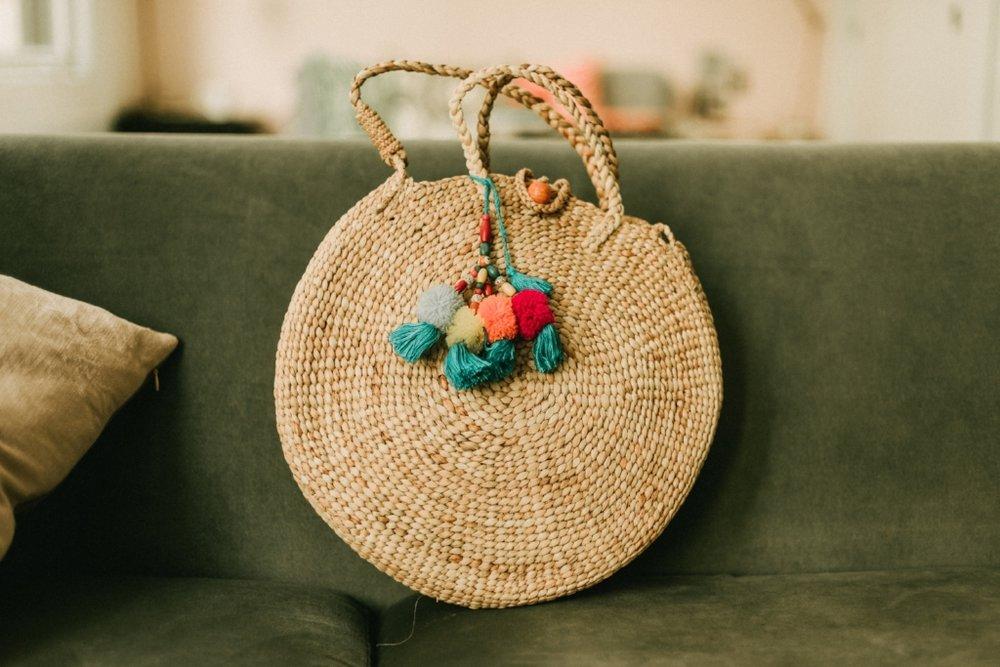 Our Jane Birkin bag by artisans in Kulon Progo village