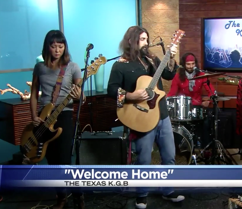 "The band preforms ""Welcome Home,"" the single off their newest album of the same name."