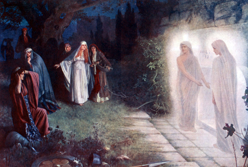 THE WEIRDNESS AND VASTNESS OF RESURRECTION -