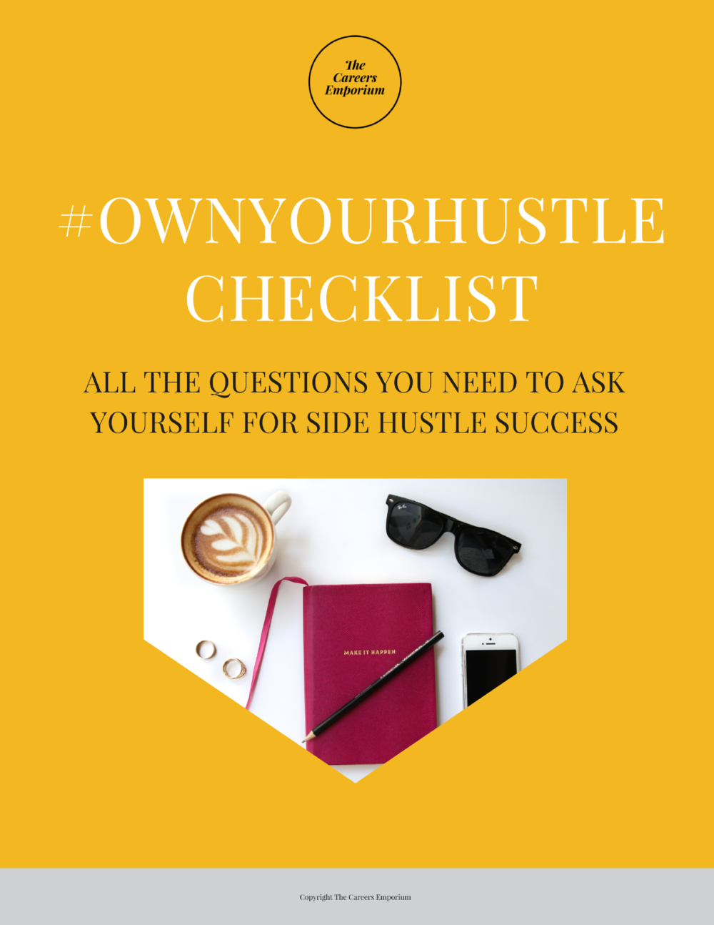 FREE CHECKLIST - Check the boxes to get your Side Hustle humming