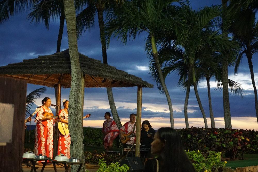 Paradise Cove Luau.