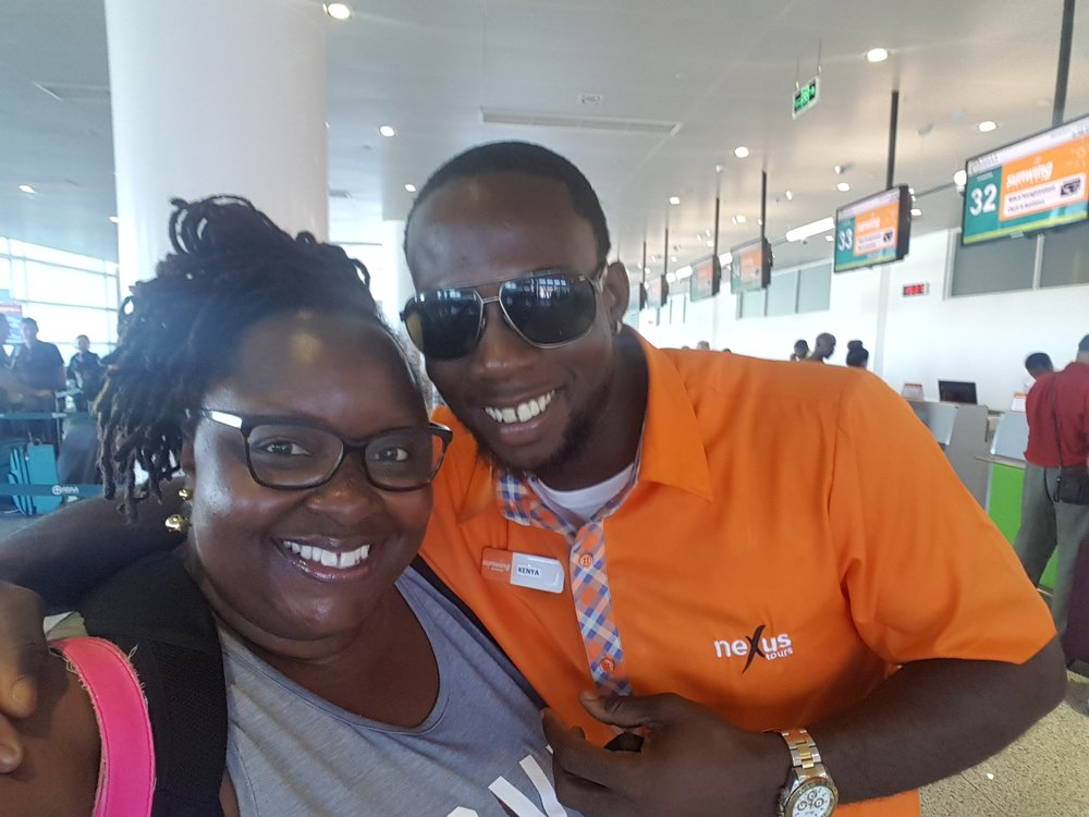 My Sunwing Representative.....Swoon!