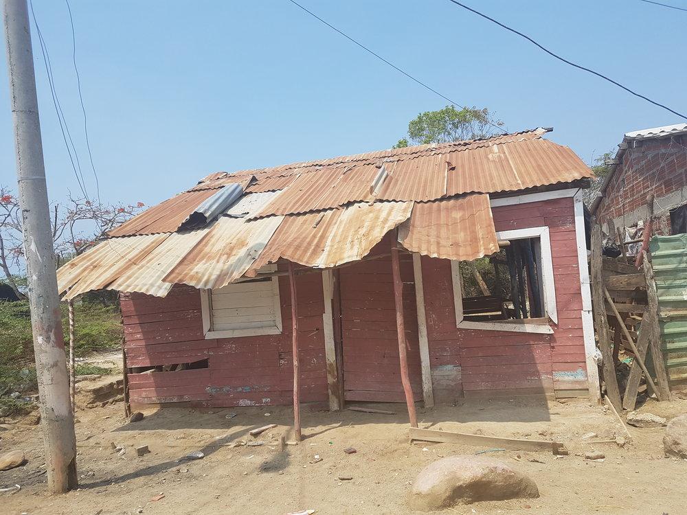 A house in Ararca