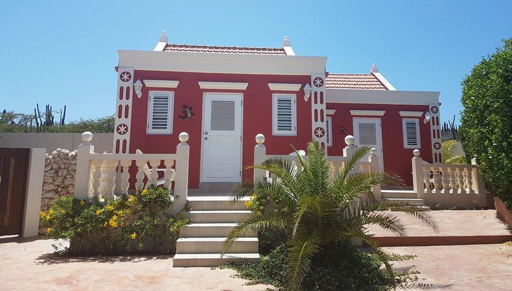 Aruba Cunucu Village. My first place. It was adorable!
