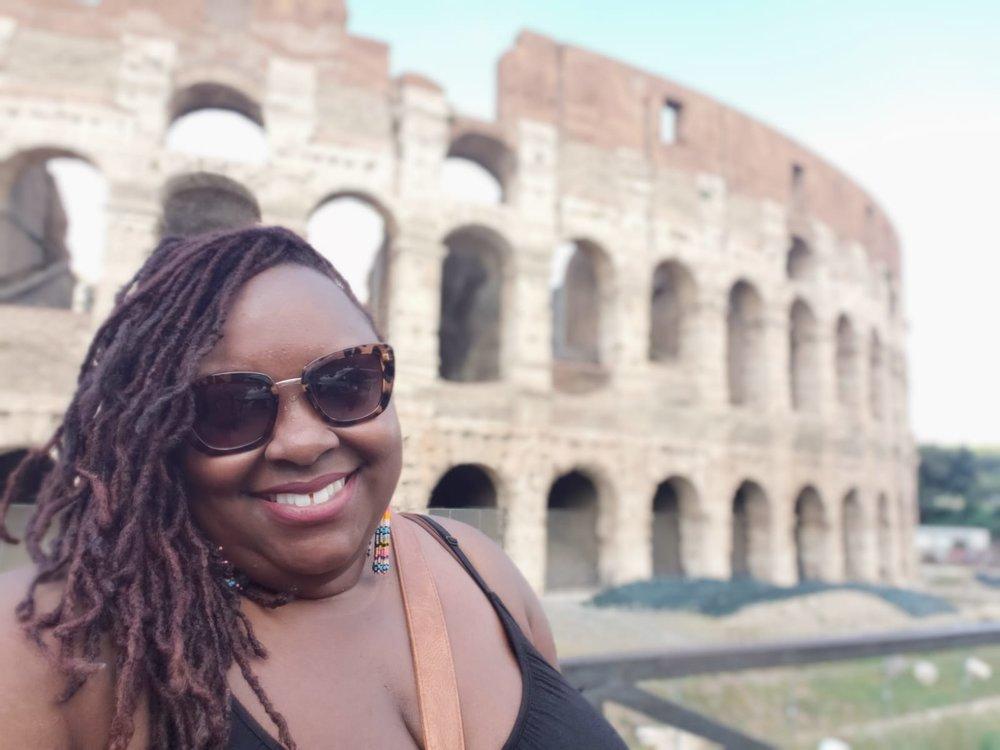 Mandatory Colosseum selfie!