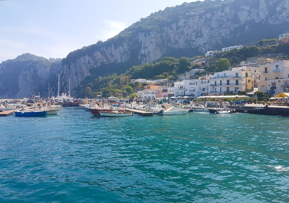 Capri! When I say stunning…I mean stunning!