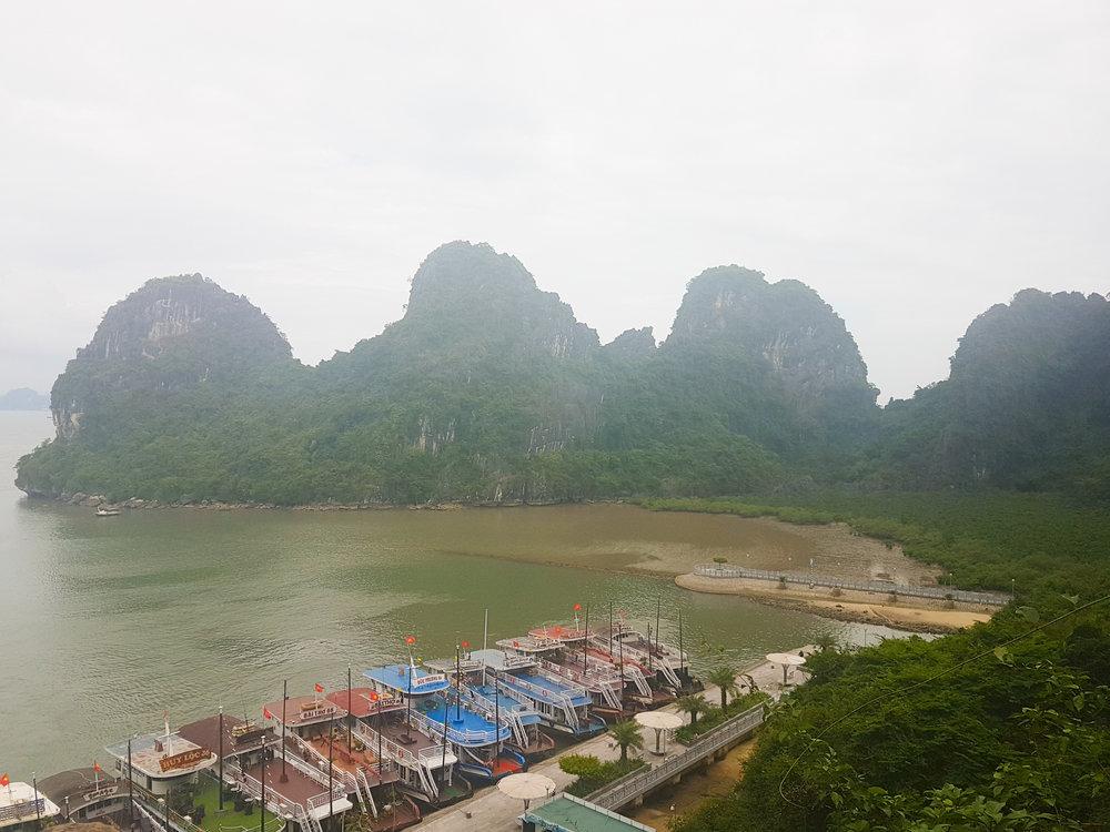 Ha Long Bay View.