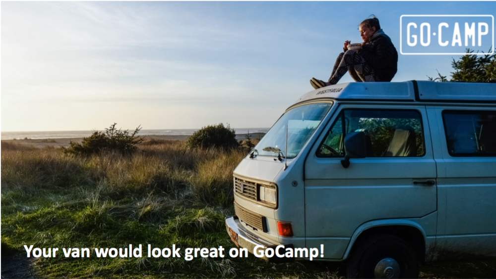 Van owners who list on GoCamp have already earned as much as $10,000+ in bookings.