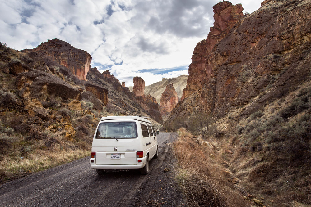 The Rogue headed into Leslie Gulch in Eastern Oregon. To reserve the Rogue, simply click   here   or the   Reserve Now   link above.