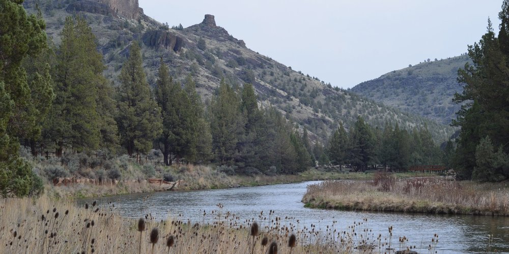Chimney Rock Campground in Central Oregon.