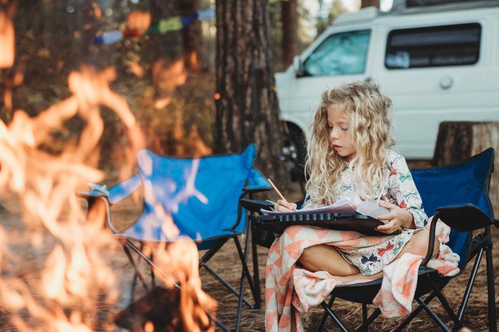 Campfire Eurovan