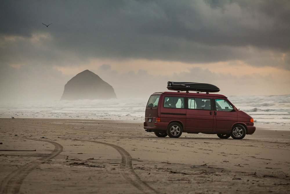 Pacific City's monolith, Haystack Rock, is 90 feet taller than the one with the same name in Cannon Beach.