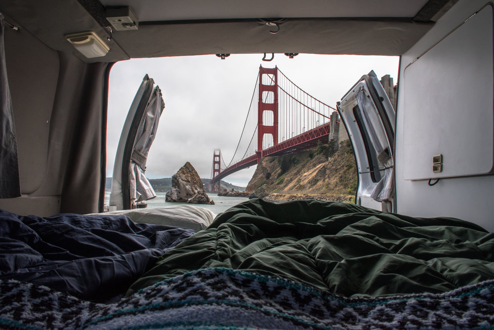 Camp in Northern California in a Camper Van Rental.jpg