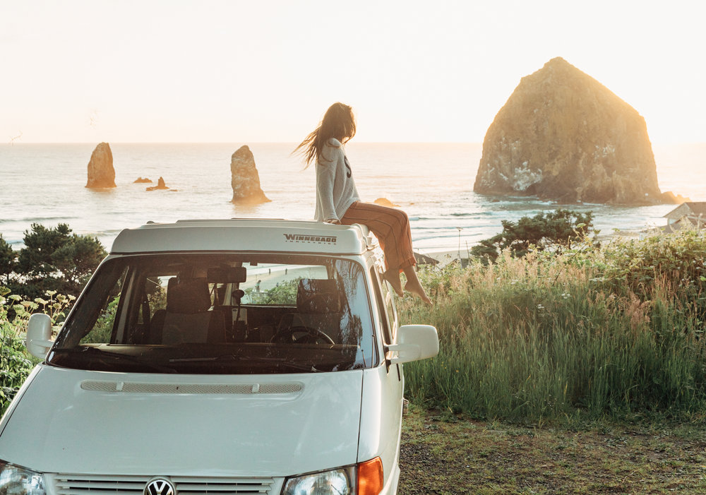 Drive the Pacific Coast Highway from the North or South. GoCamp offers one-way rentals.