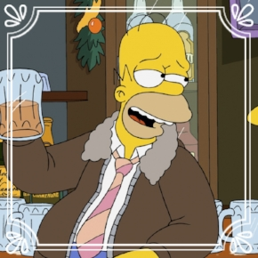 Pick #4: Homer Simpson - The Simpsons- Cartoon Character (Dominic)