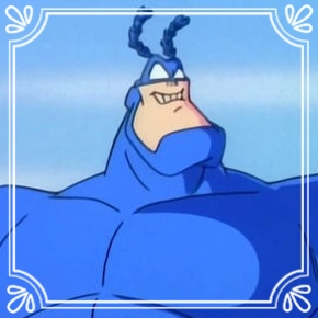 Pick #46: The Tick - The Tick- Cartoon Character (Marcus)