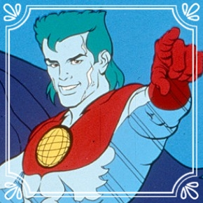Pick #62: Captain Planet - Captain Planet - Cartoon Character (Dominic)